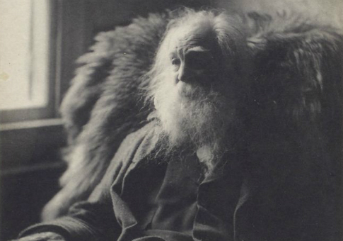 Walt Whitman in 1891 / New York Public Library
