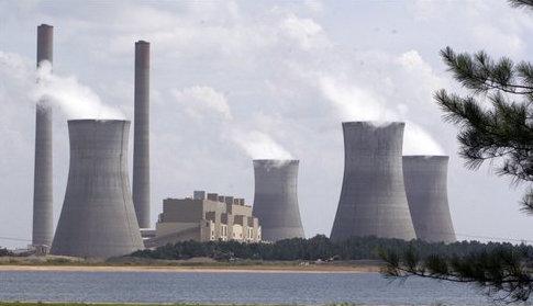 Plant Scherer, the nation's largest source of carbon dioxide / AP
