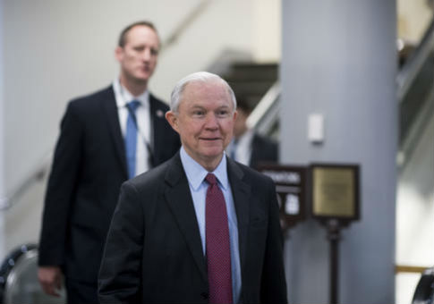 Sen. Jeff Sessions (R., Ala.), nominee to be attorney general / AP