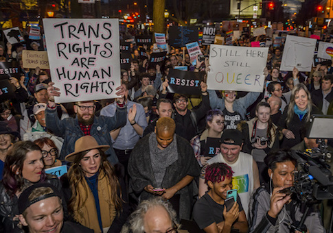 NY: Rally for Transgender rights
