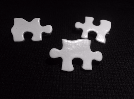 Etown College Dems White Puzzle Pieces / Twitter