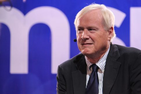 Long-time MSNBC show host Chris Matthews- woman accusing him of sexual harassment paid off by NBC