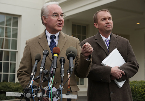 Tom Price and Mick Mulvaney Refute CBO Report On Trump Health Care Bill