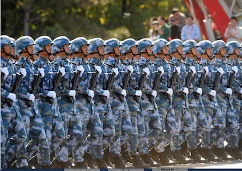 Chinese marines