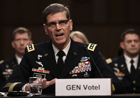 U.S. Central Command Commander Army Gen. Joseph Votel