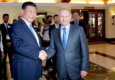 Xi Jinping, Vladimir Putin