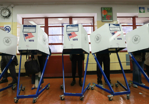 Voting booths /