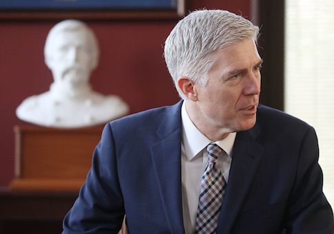 Supreme Court nominee Judge Neil Gorsuch