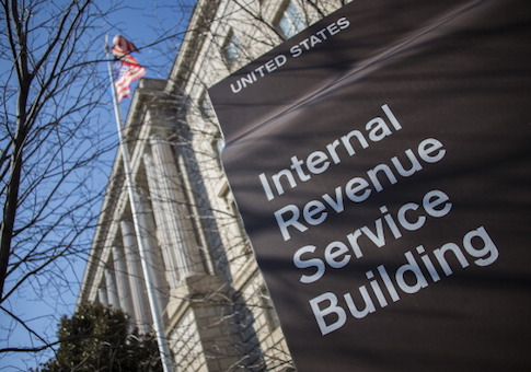 The IRS building