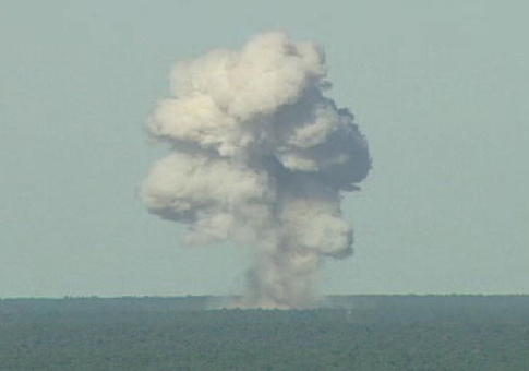 Air Force Explodes MOAB Bomb In Florida
