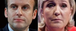 Emmanuel Macron and Marine Le Pen / Reuters