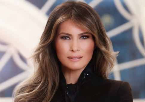 First Lady Melanie Trump White House portrait / Twitter