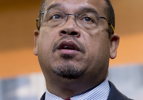 photo image Ellison Refuses to Say if DNC Will Return Its Contributions from Harvey Weinstein