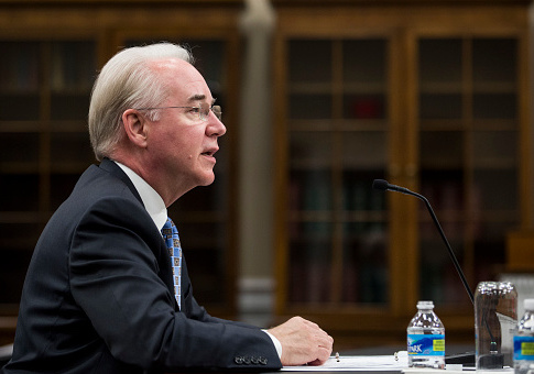 Secretary of Health and Human Services Tom Price / Getty Images