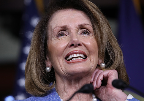 Nancy Pelosi / Getty Images