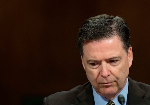 FBI Director James Comey testifies before the Senate Judiciary Committee