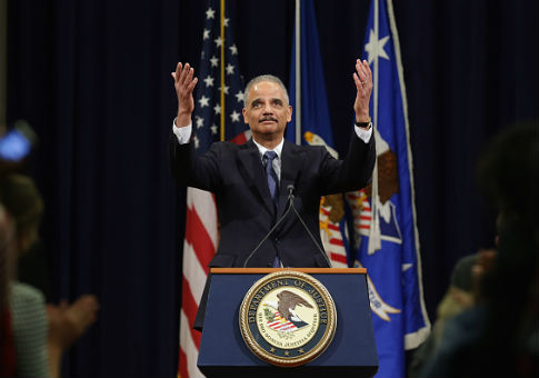 Eric Holder / Getty
