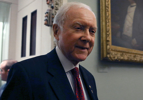 Sen. Orrin Hatch / Getty Images