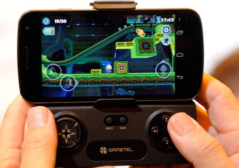 A Gametel wireless controller