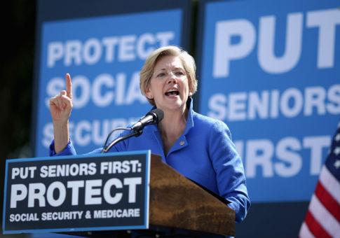 Warren's Campaign Raking in Cash From Merchandise