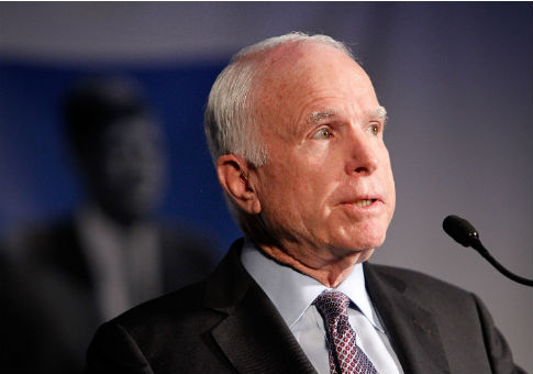 photo image John McCain in 'Stable Condition' After Surgery Treating Intestinal Infection