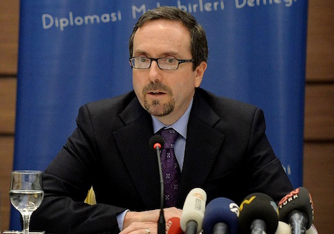 US Ambassador to Turkey John Bass