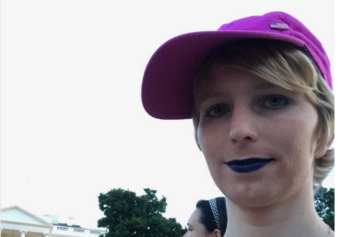 Chelsea Manning posts Instagram Photo at White House / Instagram