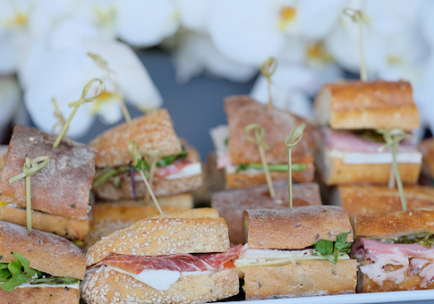fancy sandwiches