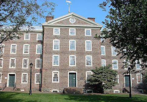 University Hall at Brown