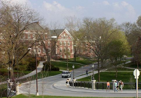 Residence hall at Iowa State University