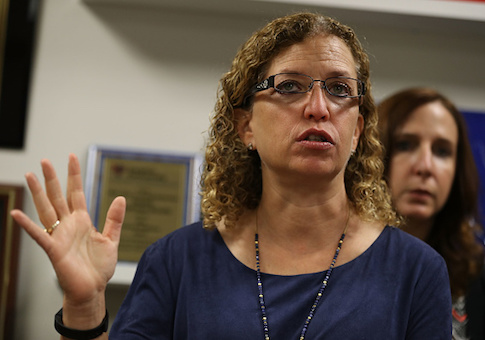 Former Democratic National Committee Chairwoman Debbie Wasserman Schultz