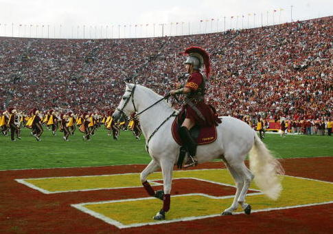 The USC Trojans horse Traveler