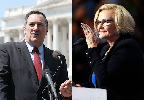 Joe Donnelly, Claire McCaskill