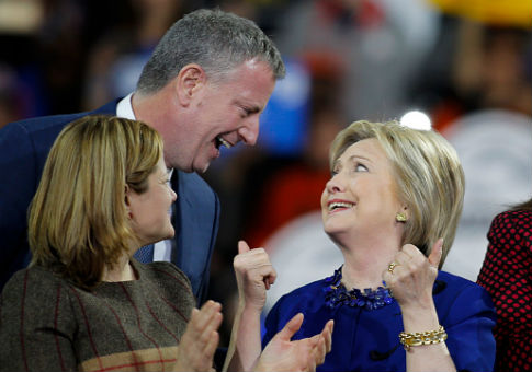 Bill de Blasio/ Getty Images