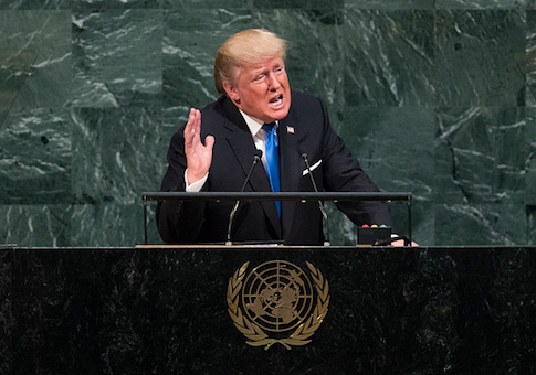 Donald Trump at U.N. General Assembly Speech
