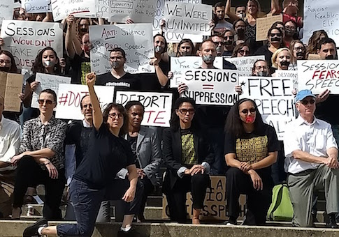 sessions protest