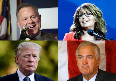 Moore Palin Trump Strange