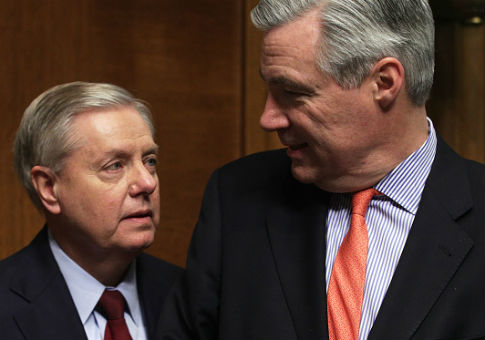Sens. Sheldon Whitehouse and Lindsey Graham/ Getty Images