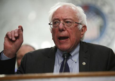 Sen. Bernie Sanders/ Getty