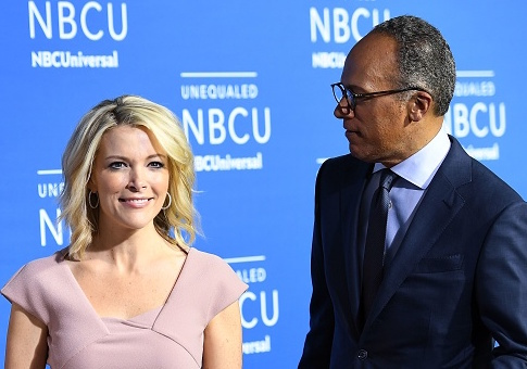 Megyn Kelly and Lester Holt / Getty Images