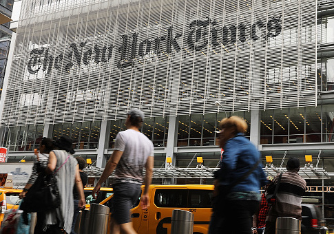 NYT Corrects Piece About Couple's Tax Increase Under New Law to Admit Their Taxes Would Go Down