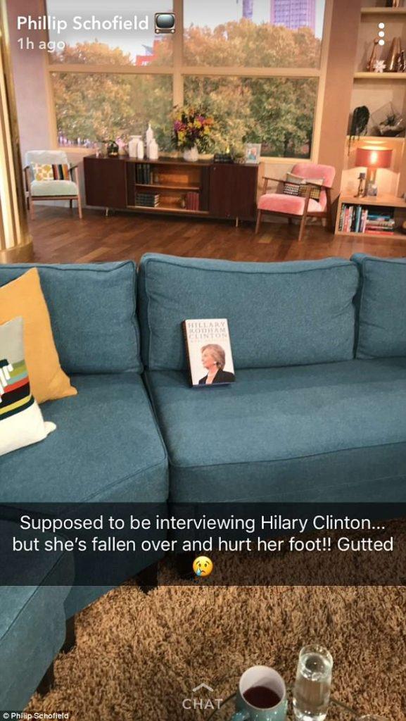 Phillip Schofield / Snapchat
