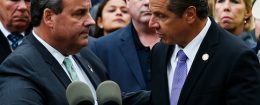 New Jersey Governor Chris Christie and New York Governor Andrew Cuomo