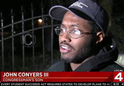 John Conyers Iii >> Conyers' Son, Handpicked Successor Was Previously Arrested for Domestic Assault