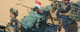 Iraqi security forces members