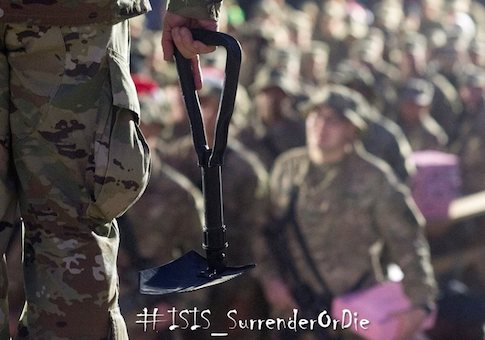 Senior Pentagon Soldier Warns ISIS Fighters: Surrender or Be Shot in the Face, Beaten to Death