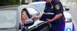 police cop ticket