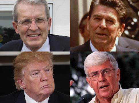 Bell Reagan Trump Kemp