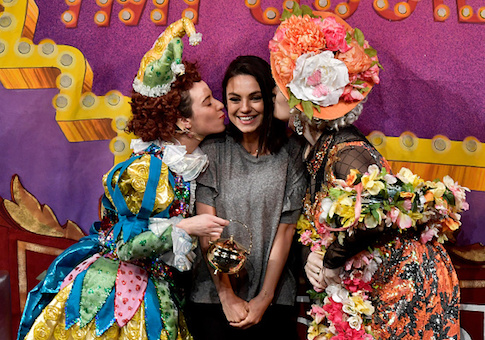 Mila Kunis attends Hasty Pudding Theatricals