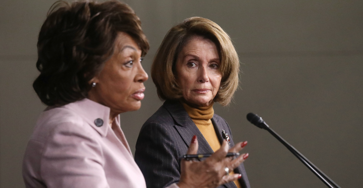 Filibuster Reform >> Waters: Pelosi's Filibuster-Style Speech Was 'Most Profound One Minute' in History of Congress